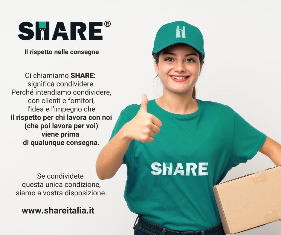 consegne etiche share